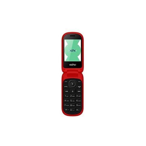 Echo Téléphone mobile Echo Clap 2 Double SIM Rouge - Smartphone