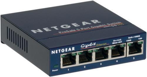 Netgear Switch réseau RJ45 NetGear 5 ports gigabit GS105GE - (donnée non spécifiée)