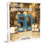 smartbox  SmartBox Coffret cadeau Smartbox Joyeux anniversaire ! 50 ans... par LeGuide.com Publicité