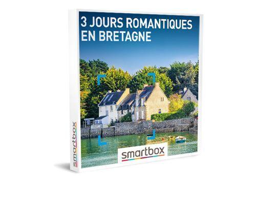 SmartBox Coffret cadeau Smartbox 3 jours romantiques en Bretagne - Coffret cadeau