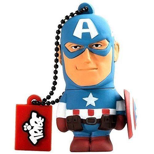 Tribe Clé USB Tribe Marvel Avengers Captain America 16 Go - Clé USB