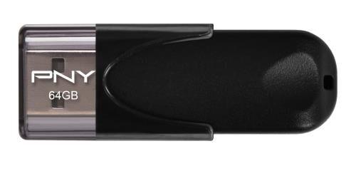 Pny Clé USB 2.0 PNY Attaché 4 64 Go Noire - Clé USB