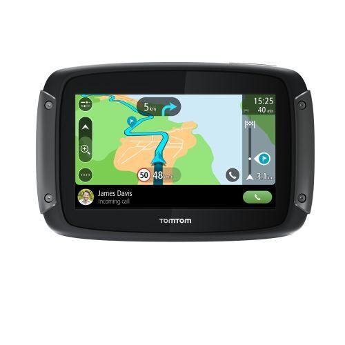 Tom Tom GPS Moto TomTom Rider 500 Cartographie Europe 49 pays, Traffic, Zones de danger à vie, Appel Mains-Libres - (donnée non spécifiée)