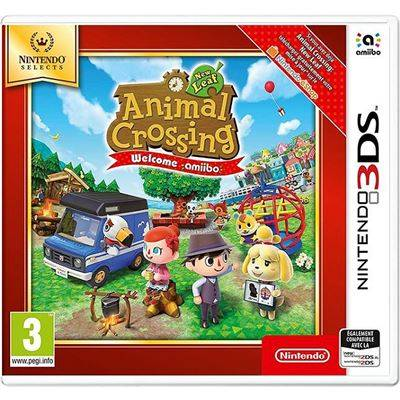 Nintendo France Animal Crossing New Leaf Welcome Amiibo Nintendo 3DS Selects - Nintendo 3DS