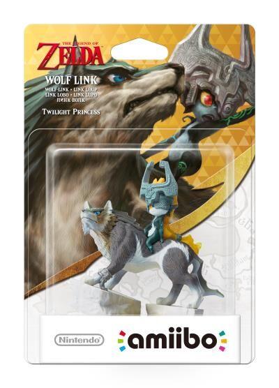 Nintendo France Figurine Amiibo The Legend Of Zelda Link Loup - Figurine