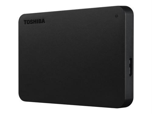 Toshiba Disque dur externe Toshiba Canvio Basics 3 To Noir - Disque dur externe