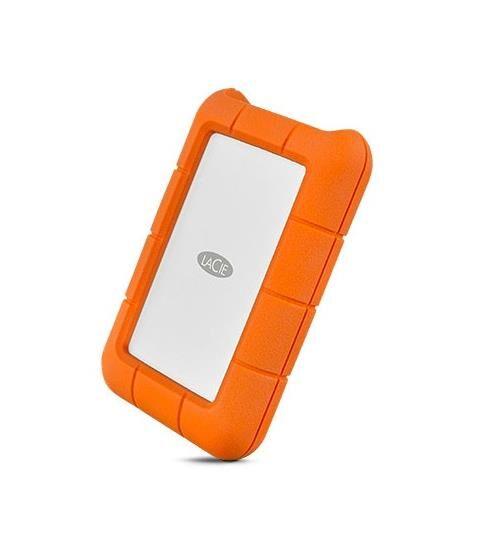 LaCie Disque dur portable LaCie Rugged 4 To USB-C Orange - Disque dur externe