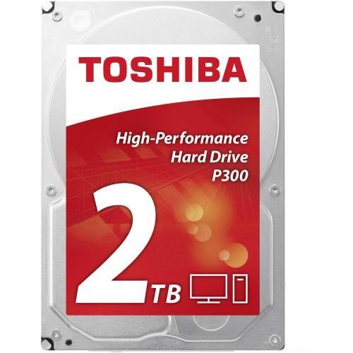 Toshiba Disque Dur SATA Toshiba P300 High-Performance 2 To - Disque dur interne