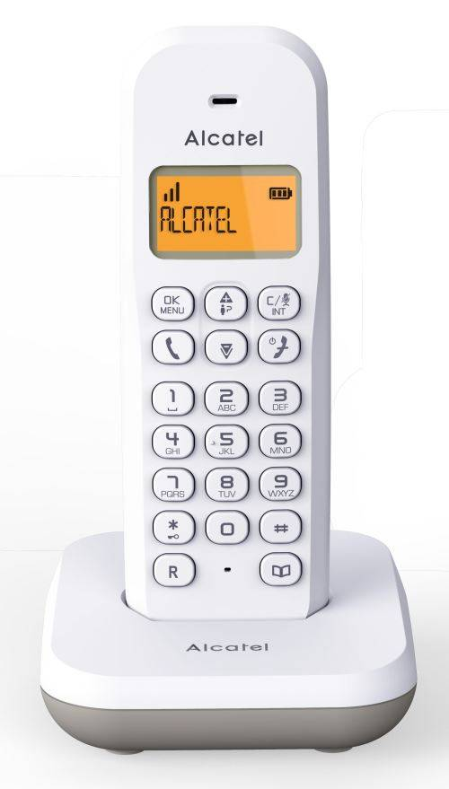 Alcatel Téléphone fixe Alcatel E195 Blanc - Téléphone sans fil