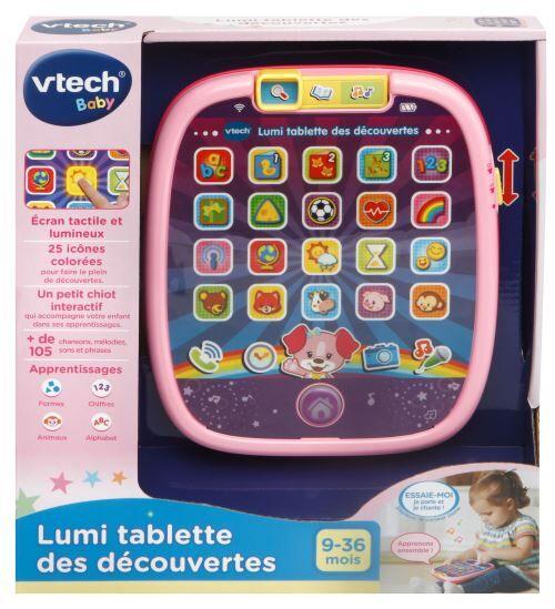 Vtech Baby Tablette Lumi Vtech Baby Rose - Jeu découverte