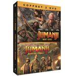 Coffret Jumanji DVD - DVD Zone 2 De Jake Kasdan avec Dwayne Johnson Kevin... par LeGuide.com Publicité