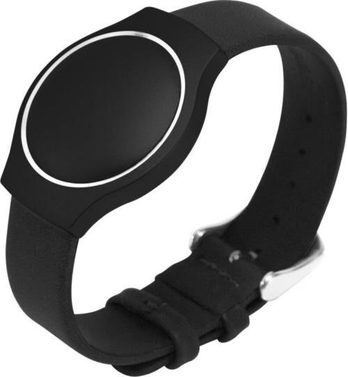 Misfit Bracelet Misfit Shine Cuir Noir - (donnée non spécifiée)