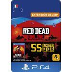 EPAY DIGITAL Code de téléchargement Red Dead Online 55 Lingots d?Or PS4... par LeGuide.com Publicité