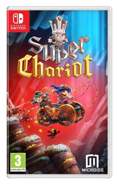 JUST FOR GAMES Super Chariot Nintendo Switch - Nintendo Switch