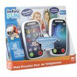 Infiny Fun Talkie Walkie Infiny Fun Mon première duo de téléphone - Talkie-walkie... par LeGuide.com Publicité
