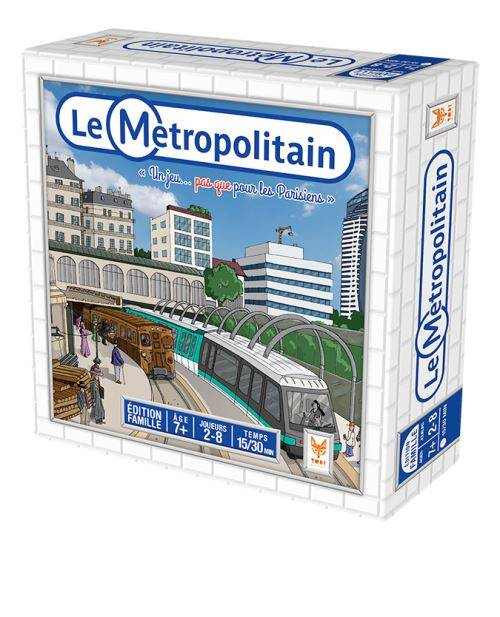 Topigames Le Métropolitain Topi Games - Autre jeu de société