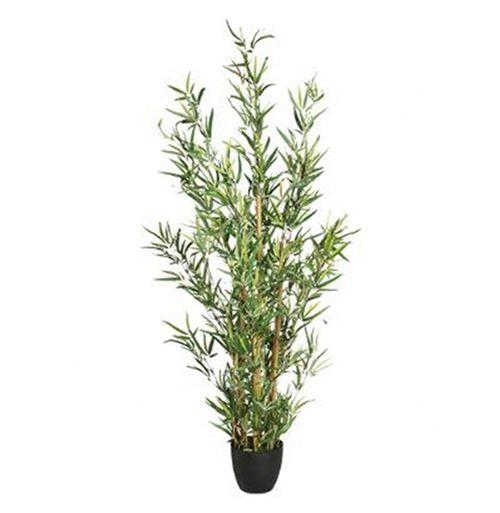 Paris Prix Plante Artificielle 120cm Bambou Vert - Objet à poser
