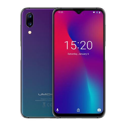 Umidigi Smartphone UMIDIGI One Max 4+128 Go double Sim Bleu - Smartphone