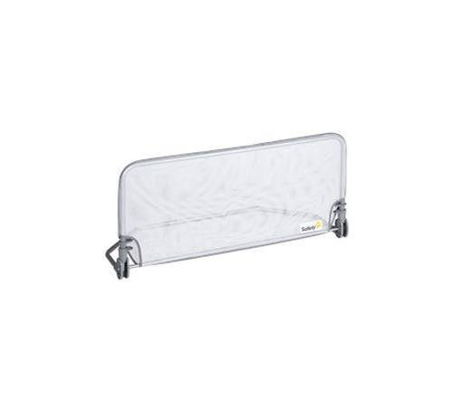 SFIR Barrière de lit Standard Safety First 90 cm Textile Gris - Barrière de lit