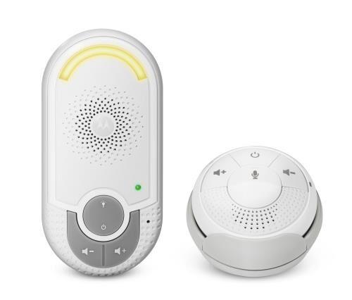 MTOR Moniteur bébé audio Motorola MBP140 avec unité bébé Plug&Go; - Babyphone