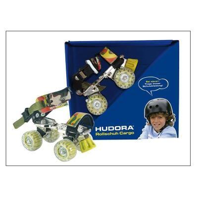 Hudora 22026 Patins à roulettes pour garçons - Pointure 21-31 - Patinettes/Rollers