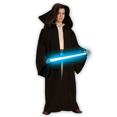 Rubies Déguisement Deluxe De Jedi (Star Wars - Clone Wars) -Enfant-10/12 ans (138 à 150 cm) - Déguisement enfant