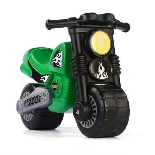 Polesie Wader Moto à roulettes 63 x 38 x 44 cm Vert 1450528 - Autre circuit / véhicule