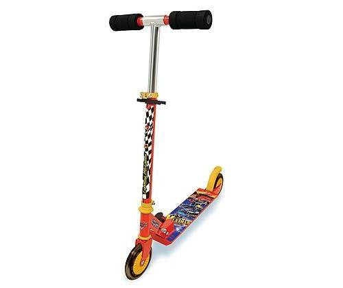 SMBY Patinette pliable 2 roues Cars X Street Smoby - Trottinette / Rollers