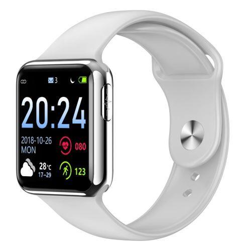 Montre Intelligente Imperméable À L'Eau en Verre Trempé Activité Fitness Tracker Fréquence Cardiaque Monito Poly211 - Montre connectée