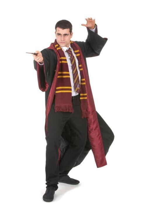 Robe De Sorcier Gryffondor - Harry Potter™ - Noir - S - Déguisement adulte