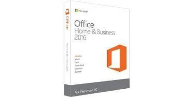 MICROSOFT OFFICE HOME AND BUSINESS 2016 UK KEY - (donnée non spécifiée)
