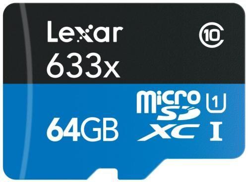 LXAR Carte MicroSDXC Lexar 64 Go Classe 10 + Lecteur USB 3.0 - Carte mémoire micro SD