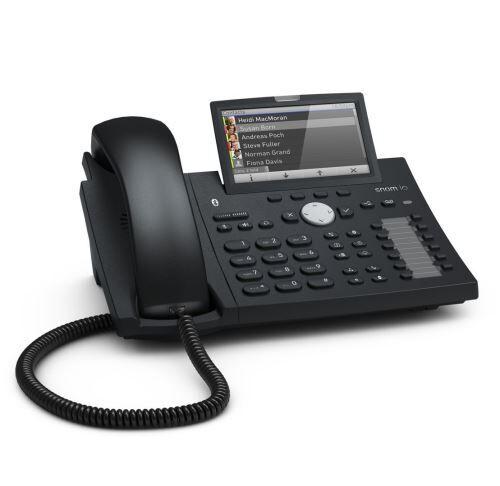Snom 300 Desk Telephone D375 Couleur Voip / SIP Téléphone Bureau ; 4.3