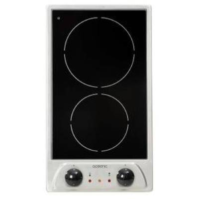 OCEANIC Table de cuisson vitrocéramique TV2ZIX - Accessoires préparation culinaire
