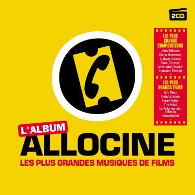 Sony Video Non Musicale Allociné : Les plus grandes musiques de films - 2 CD - CD album