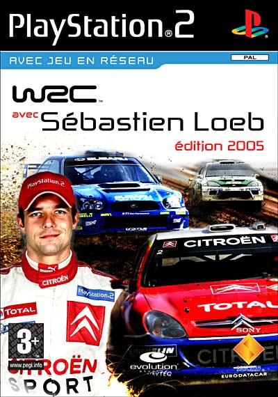 Sony WRC 5 - World Rally Championship - Sebastien Loeb Edition 2005 - PlayStation 2