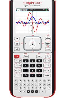 Texas Instruments Calculatrice graphique pour le lycée et supérieur