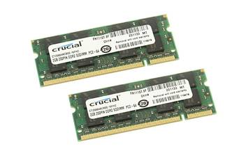 Crucial DDR2 2X2GB 800