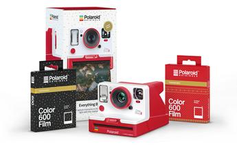 Polaroid Originals Coffret Noel Onestep2 Rouge + 2 films Noel