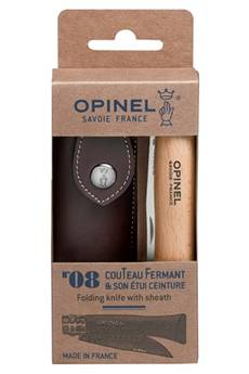 Opinel COUTEAU OPINEL N°8 INOX AVEC ETUI