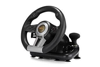 Dealmarche Volant de jeu  v3ii racing avec pédale pliable