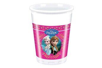 Procos Gobelets en plastique La Reine des Neiges (Frozen) x8