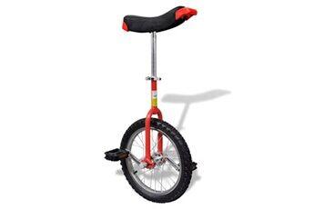 GENERIQUE Cyclisme collection kaboul monocycle ajustable rouge
