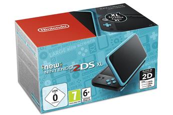 Nintendo New 2DS XL Noir et Turquoise
