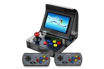 Dealmarche Console de jeu mini portable rétro de 4,3 pouces jeux vidéo 64 pouces 3000