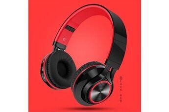 Generic Ecouteurs pliables sans fil bluetooth casque stéréo hi-fi avec carte micro sd / tfgaming headset 229