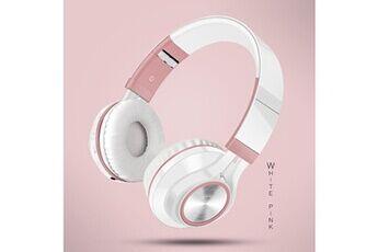 Generic Ecouteurs pliables sans fil bluetooth casque stéréo hi-fi avec carte micro sd / tfgaming headset 228