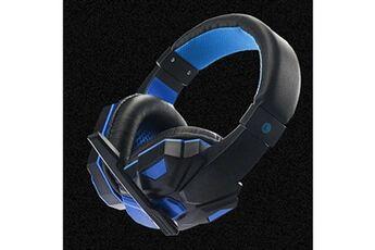 Generic Surround stéréo gaming headset headband headphone usb 3,5 mm avec micro pour pc bugaming headset 291