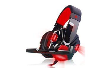 Generic Surround stéréo gaming headset headband headphone usb 3.5mm mic led pour pc rdgaming headset 323