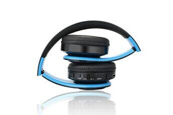 Generic Casque bluetooth écouteurs casque sans fil stéréo pliable sport mic mains libresgaming headset 265